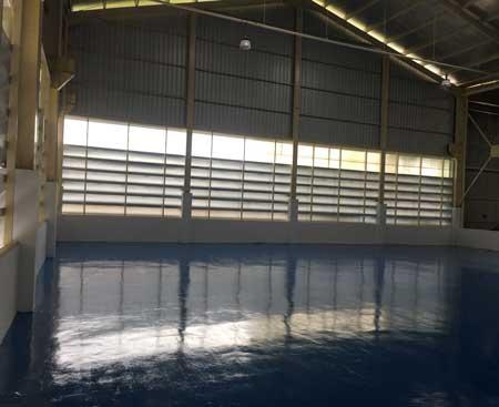 epoxy lantai produksi pabrik