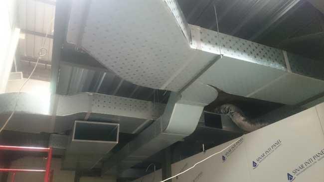 ducting hvac pemeliharaan pabrik