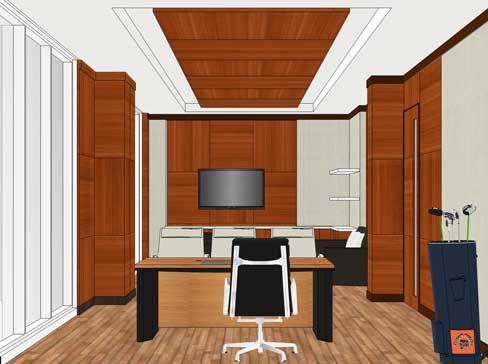 interior kantor ruang direktur