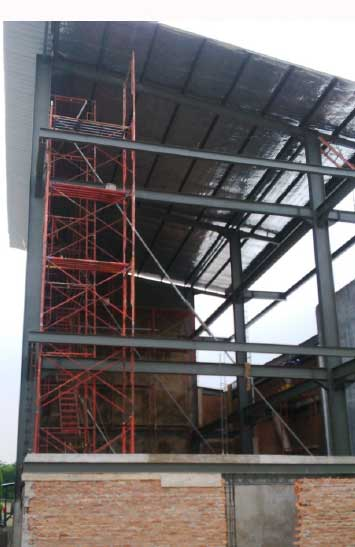 struktur baja pemeliharaan pabrik cikarang