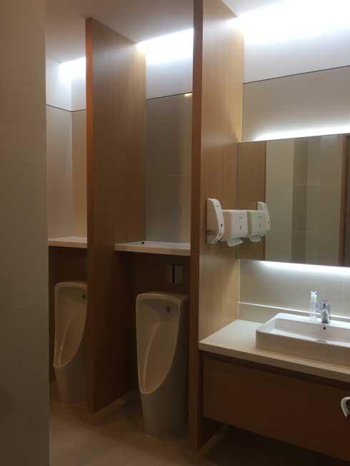 toilet kantor pabrik asahi cikarang
