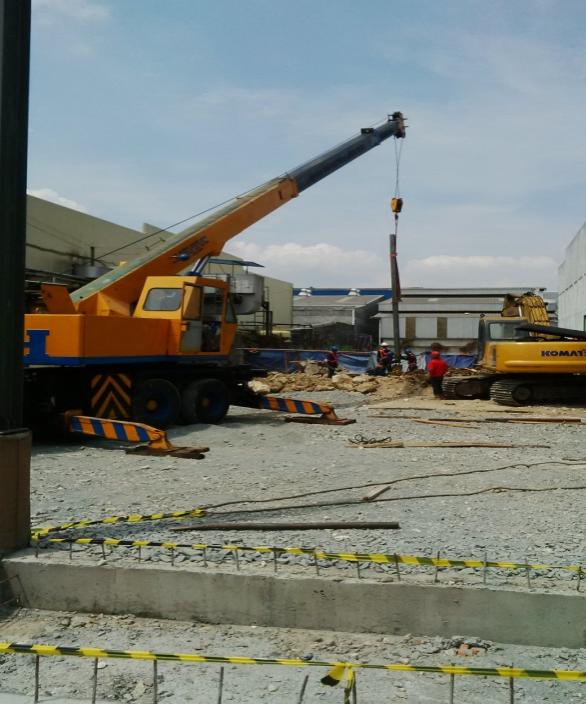 proyek pabrik puratos indonesia
